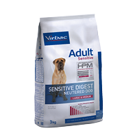 ADULT SENSITIVE DIGEST NEUTERED L&M - Friskfoder till vuxna hundar - Kastrerade hundar